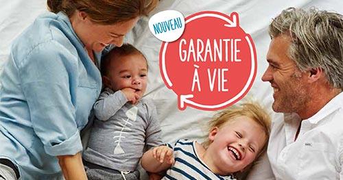 Bébé Confort Garantie à Vie